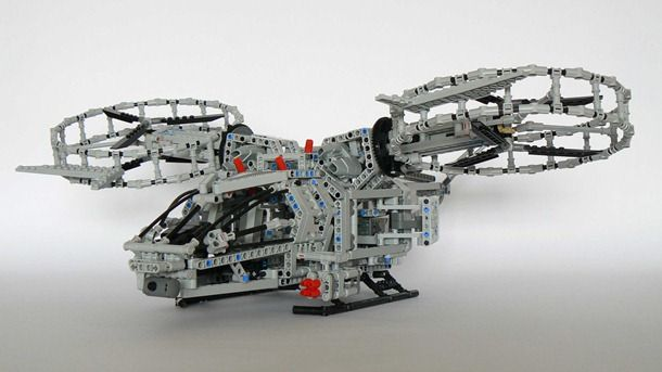 Awesome LEGO Avatar Helicopter
