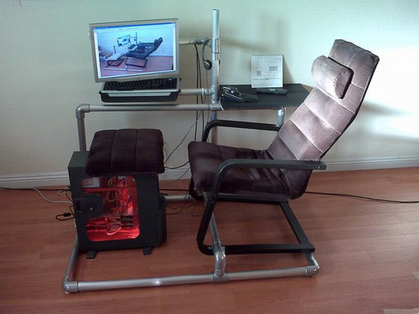 Excellent Diy Gaming Chair By Don Sturrock Atcrux Inzonedesignstudio Interior Chair Design Inzonedesignstudiocom