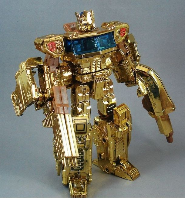 Limited edition classic Optimus Prime Transformer 