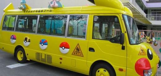 Pikachu kindergarten bus3
