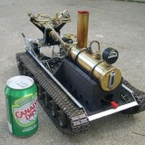 RC steamtank