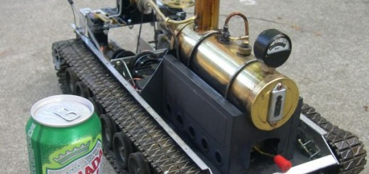 RC steamtank