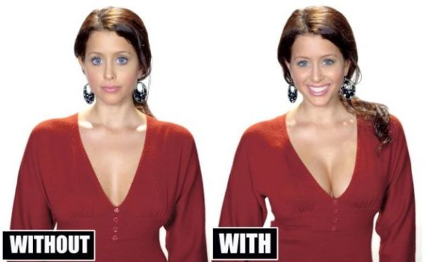 Invisible Bra - Boost boobs size and shape without surgery