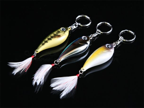 Beautiful USB Fish with Key Ring