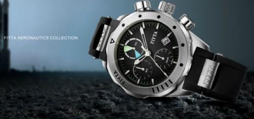 Fiyta Aeronautics Collection wristwatch