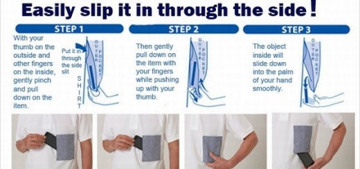 K-pocke to prevent shirt pocket spills