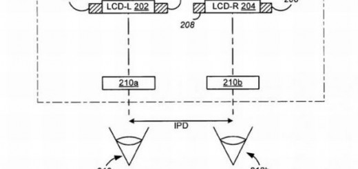 Apple head mounted display patent