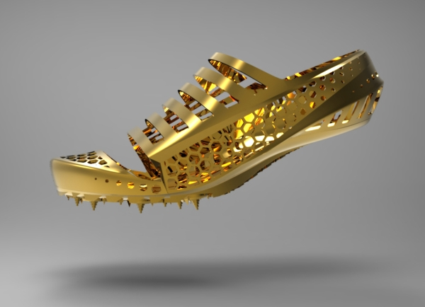 Peformance enhancing light weight 3D printed shoe developed for Olympic athletes 