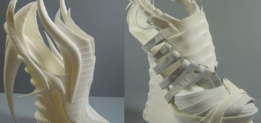 Exoskeleton shoes 3D printed alien look_0