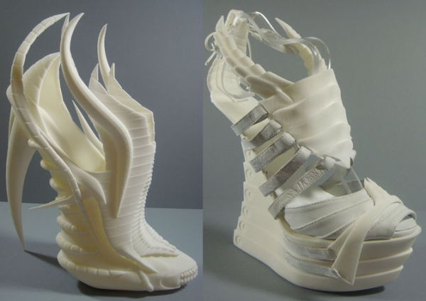 3D printed Exoskeleton shoes look scary but impressive too