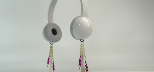 earing headphones