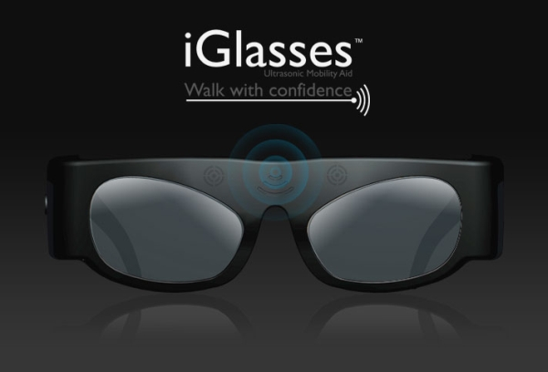 iGlasses Ultrasonic Mobility Aid for the blind costs only