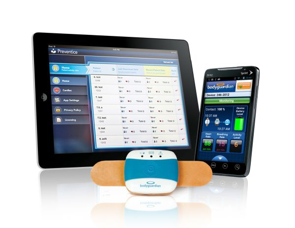BodyGuardian RMS allows for remote monitoring of heart conditions