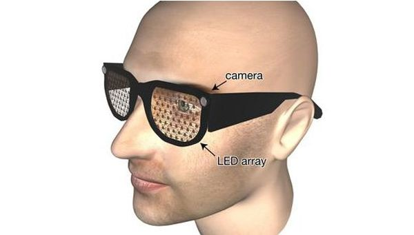 Hi Tech LED glasses developed for visually impaired