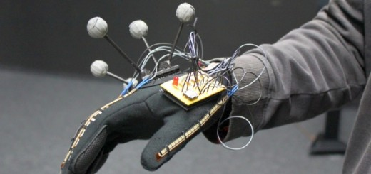 Data glove and head tracking system