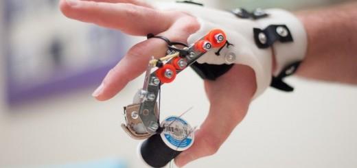 Mechanical prosthetic finger