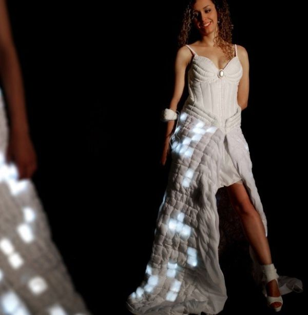 Light up the dark nights with Fashion Interaction LED-lit Dress 