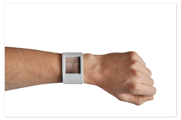 Designer conceptualizes robot that can be worn on a wrist