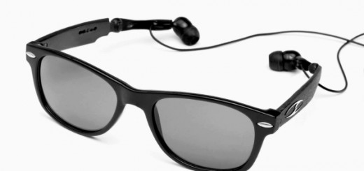 Sanpei optics sunglasses with headphones