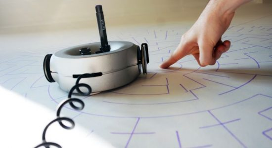 Scribit: World's First Write & Erase Robot Aims to Fight Boredom
